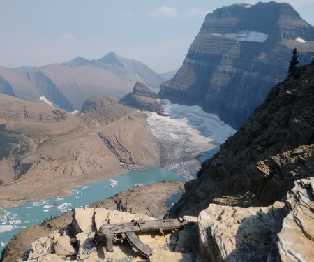 Grinnell Glacier Overlook, Glacier National Park, Montana.