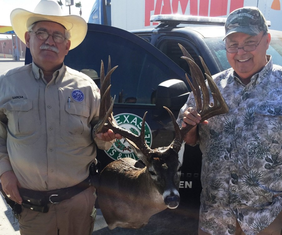 "The ""Superbuck"" is now in the hands of the Texas Parks and Wildlife Department, where it will be used in a poached bucks display. It scores 208 inches."