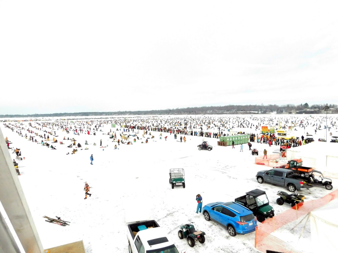 World s largest ice fishing contest a success outdoorhub for Ice fishing tournament