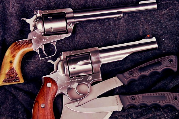 Revolvers for hunting? Yes please!
