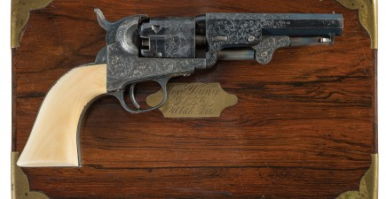 Brigham Young's personal Colt revolver.