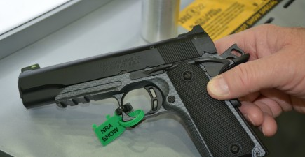 The new Black Label 1911-380 is an ideal conceal carry gun because it's small, lightweight and easy to shoot.