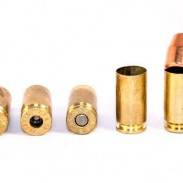 Pistol cartridge reloading steps