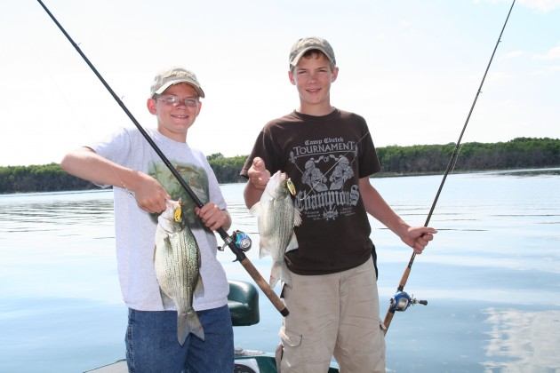 The overlooked white bass is widely distributed and fights like crazy. Find an active school and the action will be fast and furious.