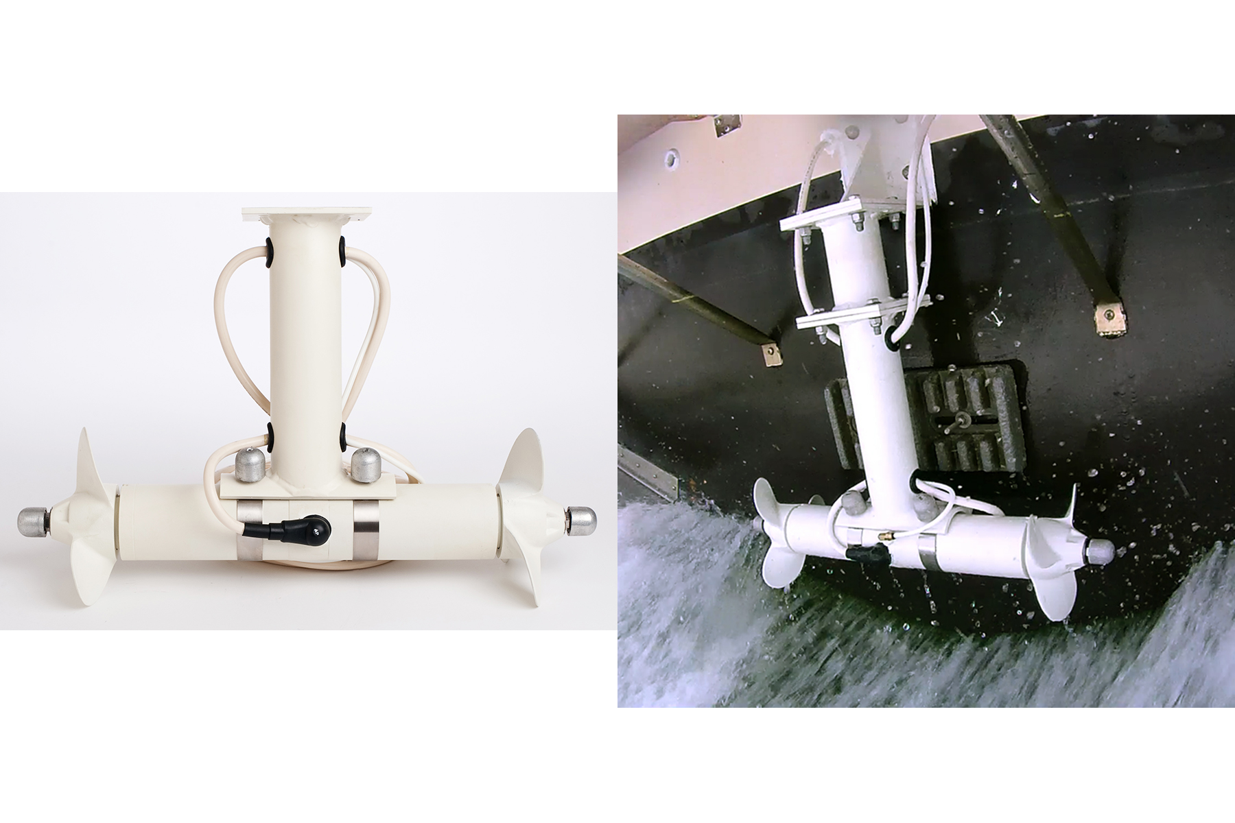 Boaters gain expert control with external stern thrusters actionhub