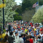 The Boston Marathon in 2010.