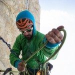 Deemed a 'magician' by Alex Honnold, Allfrey adds several firsts and speed records to the Julbo climbing team.