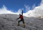 USMC SSgt. Charlie Linville in training for Mount Everest.