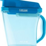 Innovative water filtration pitcher filters water at the speed of your faucet.