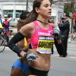 Kara Goucher is a former Nike-sponsored runner who  is now signed with Oiselle.