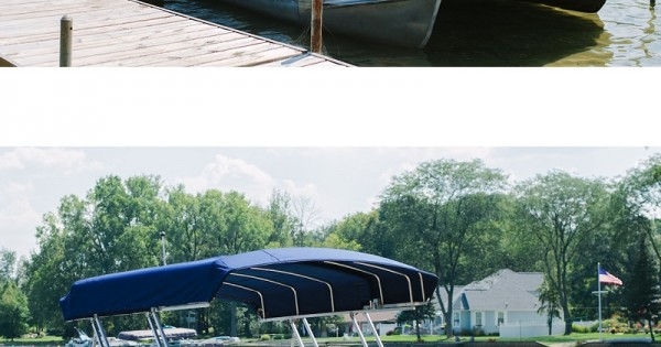 Weathermax Fabric Used On Fully Automatic Pontoon Cover