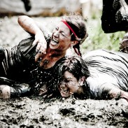 Participants during a Spartan Race.