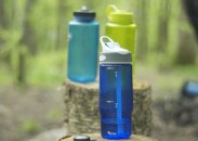 Staying hydrated is survival rule number one.