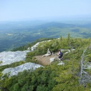 Black Mountain ledges.