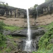 A waterfall in Khopoli.