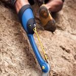 The KLIPPA prosthetic leg for rock climbers.
