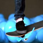 Skateboarding Balloons