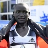 Kenyan Dennis Kimetto set a world record for the marathon with a time of 2:02:57 in Berlin on Sunday.