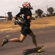 The 4MM jetpack was designed for soldiers by a team at Arizona State University.