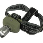 Interstate Batteries 3w Cree Q3 LED Focusing Headlamp
