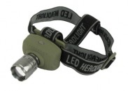 Interstate Batteries 3w Cree Q3 LED Focusing Headlamp
