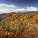 The Great Smoky Mountains, which are a sub-range of the Appalachian Mountains.