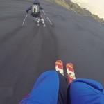 ash skiing