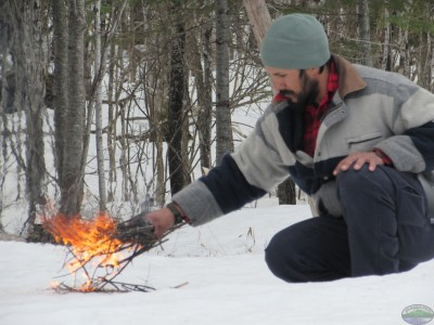 In cold climes. generating enough heat to get your wood and kindling burning will be harder than when in warmer environments.
