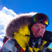 Nick Cienski is hoping to climb six of the world's major peaks in 2015.
