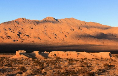 Tule Springs Fossil Beds National Monument in Nevada is among seven new national parks.