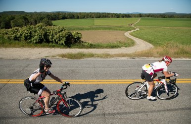 BikeMaine's annual ride showcases different sections of the Pine Tree State. Images courtesy of BikeMaine/Bicycle Coalition of Maine.