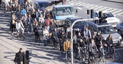 Copenhagen topped the list. Image courtesy of Copenhagenize Design Co.