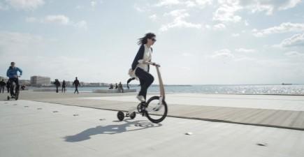 Ridng a halfbike. Image courtesy of Kolelinia.