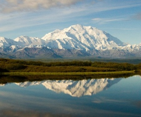 Denali stands tall at 20,237 feet. Image courtesy of U.S. Department of the Interior.
