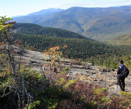 Ledges on Mount Resolution. Image by Marty Basch.