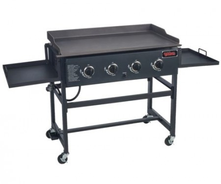 """The Outdoor Gourment 36"""" Griddle."""