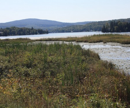 The Lamoille Valley Rail Trail serves up a look at northern Vermont's mountains and waterways.