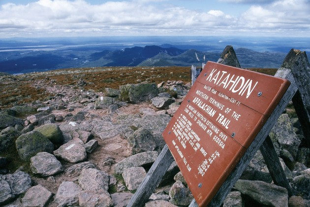 Long distance AT hikers will need a hiker registration card for  Baxter State Park in Maine.