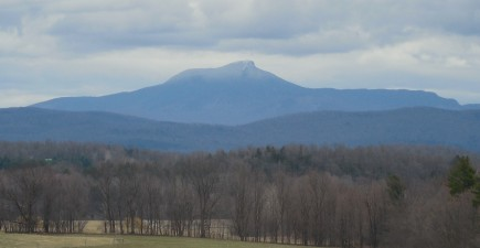 Caption: Vermont's Green Mountain Club is asking hikers to stay off high elevation trails like Camels Hump during mud season.